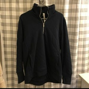 Lululemon women's quilted pullover size 10